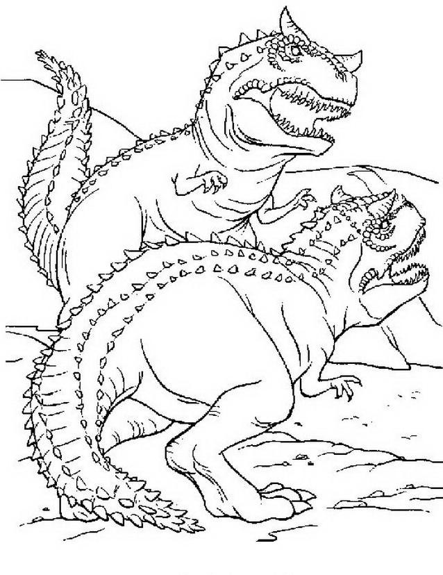 Dinosauro da colorare 2