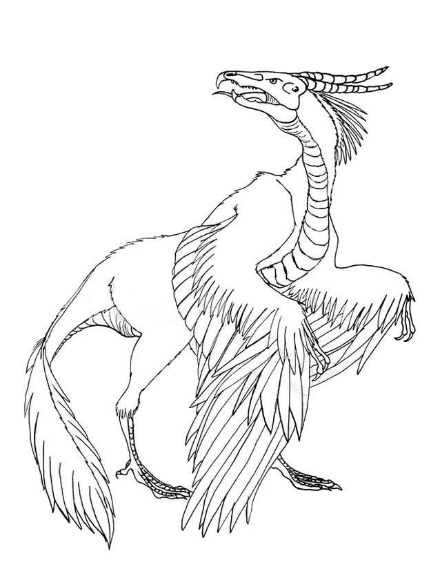 Dinosauro da colorare 13