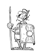 Asterix e Obelix da colorare 11
