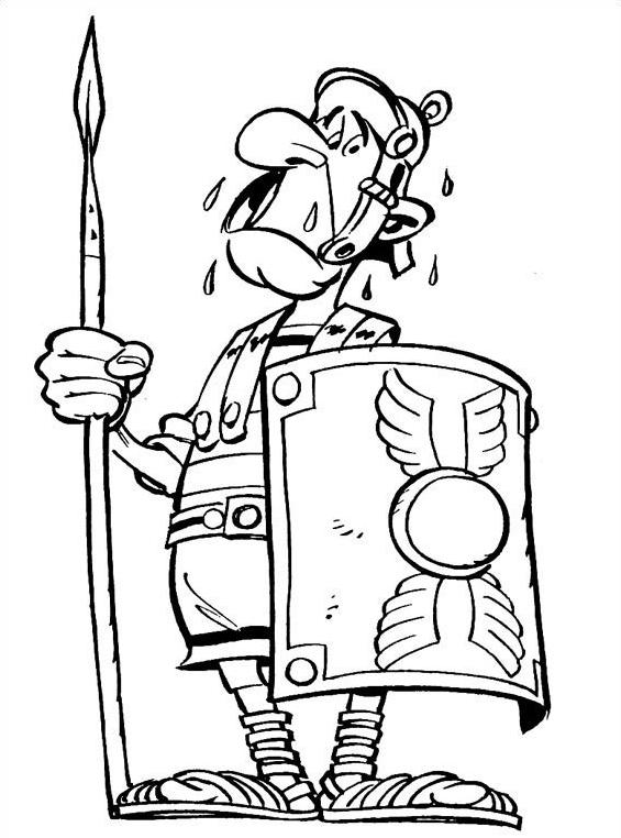 Asterix da colorare 11