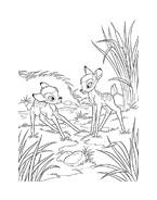 Bambi da colorare 137