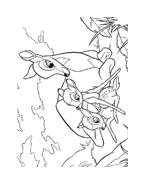 Bambi da colorare 141