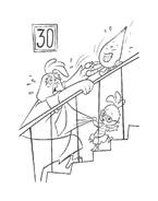 Chicken little – Amici per le penne da colorare 198