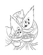 Chicken little – Amici per le penne da colorare 200