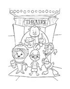 Chicken little – Amici per le penne da colorare 203
