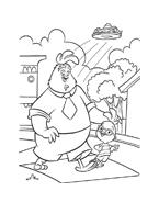 Chicken little – Amici per le penne da colorare 204
