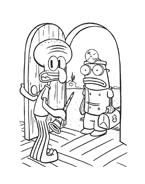 Spongebob da colorare 2
