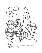 Spongebob da colorare 8