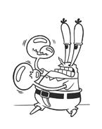 Spongebob da colorare 19