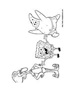 Spongebob da colorare 28