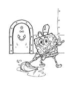 Spongebob da colorare 29