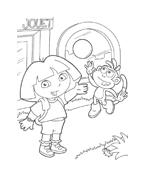 Dora l'esploratrice da colorare 83
