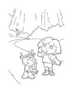 Dora l'esploratrice da colorare 94