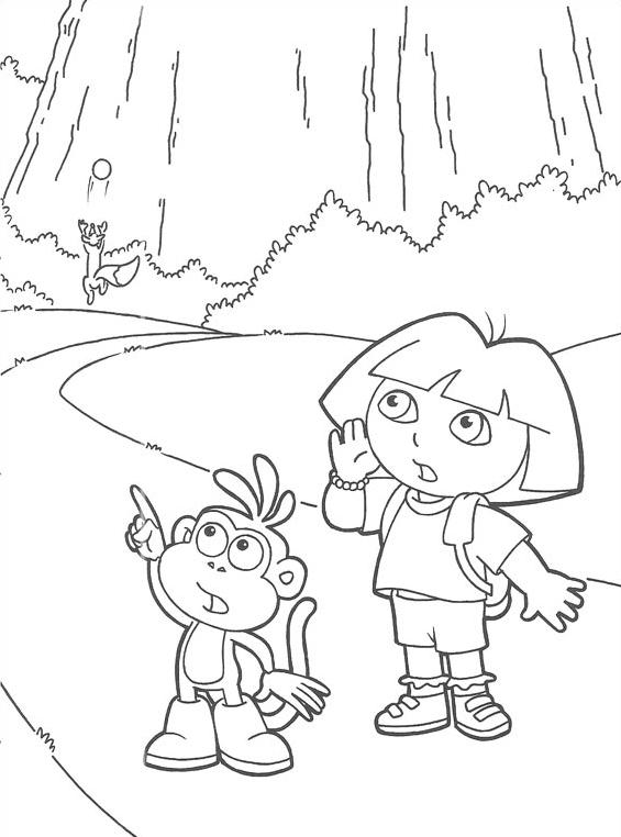 Dora esploratrice da colorare 94