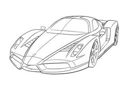 Automobile da colorare 240