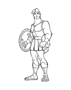 Hercules da colorare 41
