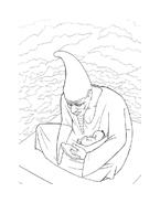 Kirikù e la strega Karabà da colorare 23