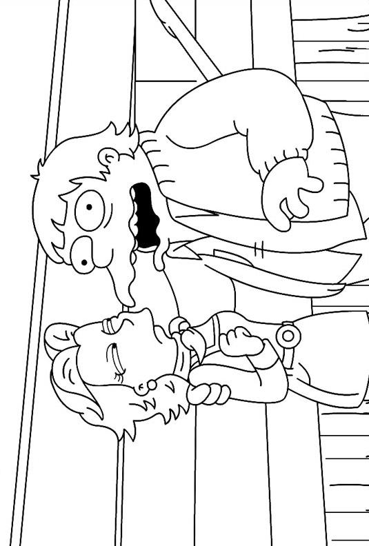 Simpsons da colorare