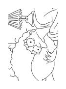 I Simpson da colorare 14