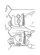 I Simpson da colorare 15