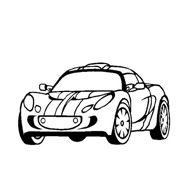 Automobile da colorare 312