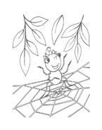Miss spider da colorare 8