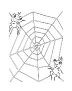 Miss spider da colorare 14