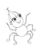 Miss spider da colorare 18