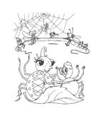 Miss spider da colorare 22