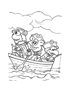I Muppet da colorare 190