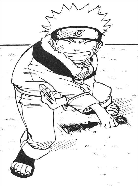 Naruto da colorare 34