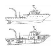 Nave e barca da colorare 125