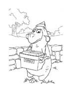 Le avventure di Piggley Winks da colorare