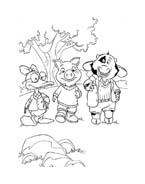 Le avventure di Piggley Winks da colorare 2