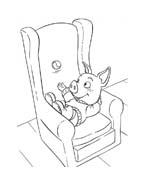 Le avventure di Piggley Winks da colorare 3