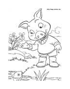 Le avventure di Piggley Winks da colorare 5