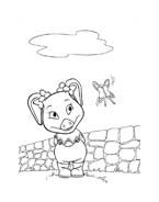 Le avventure di Piggley Winks da colorare 11