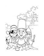 Le avventure di Piggley Winks da colorare 17