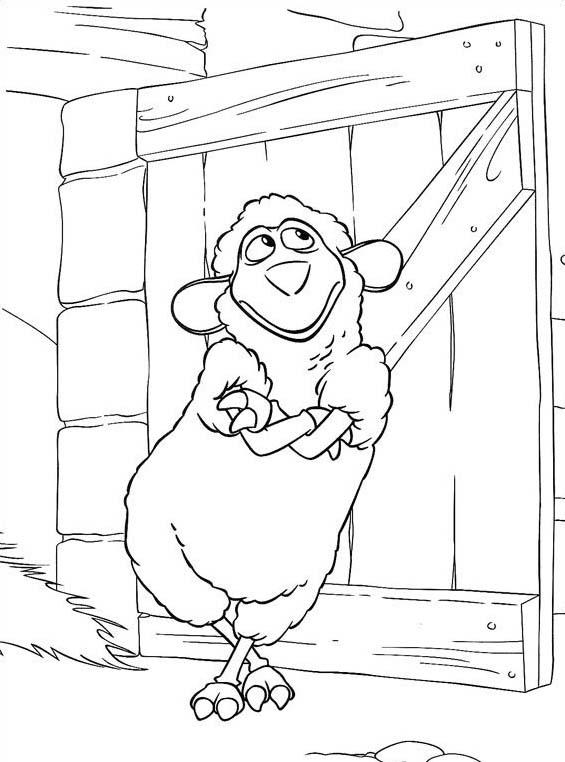 Piggly wiggly da colorare 18