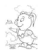 Le avventure di Piggley Winks da colorare 19