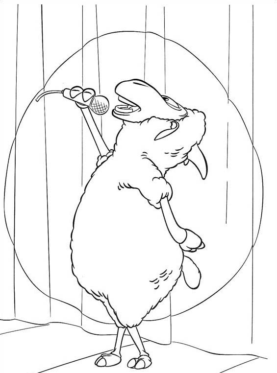 Piggly wiggly da colorare 21