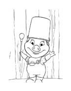 Le avventure di Piggley Winks da colorare 23