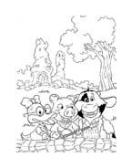 Le avventure di Piggley Winks da colorare 24