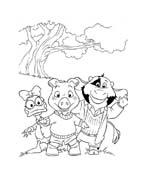 Le avventure di Piggley Winks da colorare 30