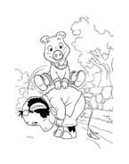 Le avventure di Piggley Winks da colorare 31
