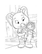 Le avventure di Piggley Winks da colorare 32