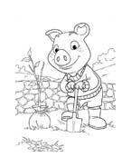 Le avventure di Piggley Winks da colorare 34