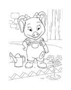 Le avventure di Piggley Winks da colorare 36