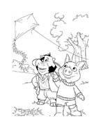 Le avventure di Piggley Winks da colorare 37