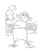 Le avventure di Piggley Winks da colorare 38